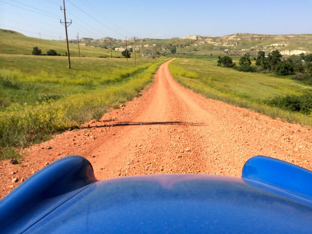 Alternate road scene