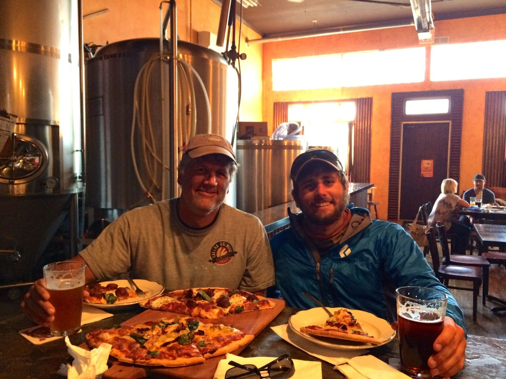 Dinner at the Beaver Creek Brewery
