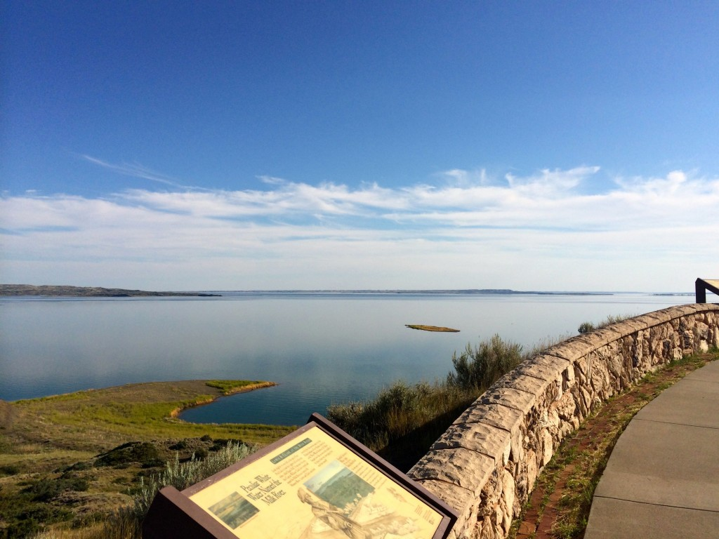 Fort Peck reservoir