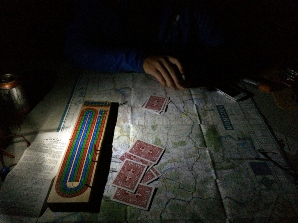 Route planning over some cribbage