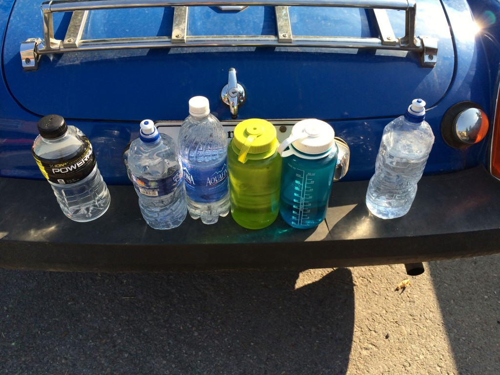 The backup water supply
